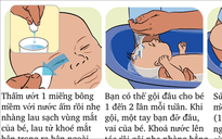 Các bước chuẩn tắm cho trẻ sơ sinh mẹ nào cũng cần biết